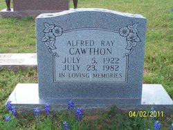 Alfred Ray Cawthon