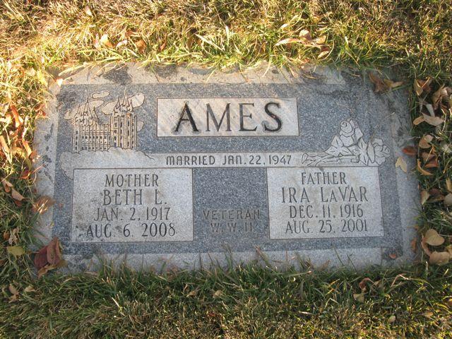 Beth <i>Larsen</i> Ames