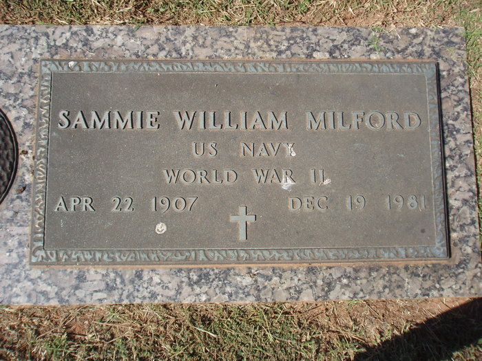 Sammie William Milford