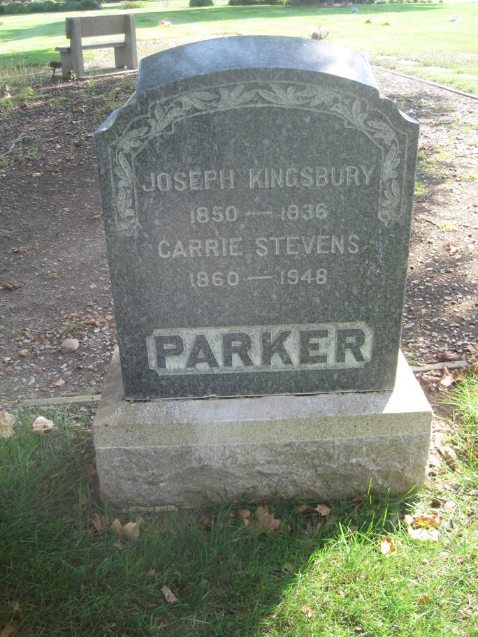 Agnes Gertrude <i>Sawyer</i> Parker