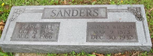 Pearl <i>Wilt</i> Sanders