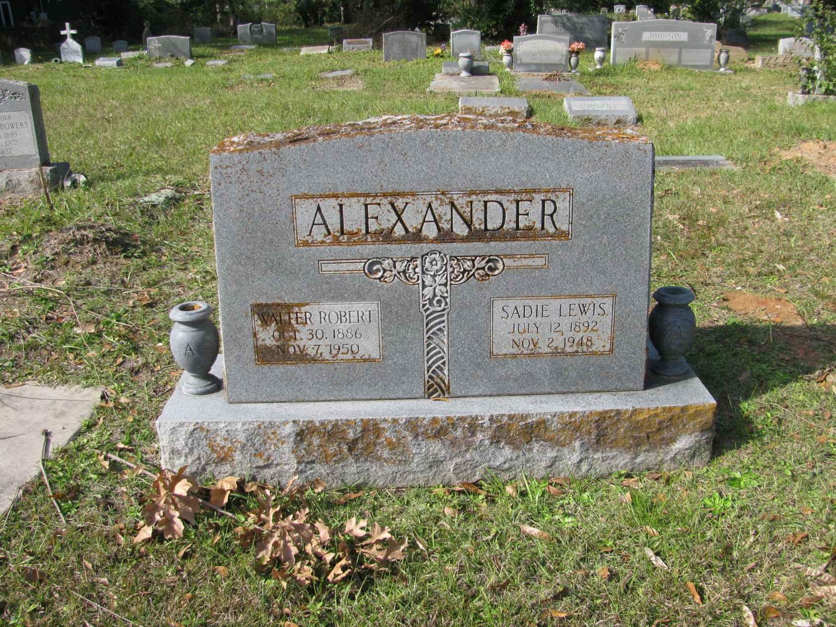 Sadie <i>Lewis</i> Alexander