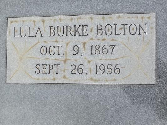 Tallulah Lula <i>Burke</i> Bolton
