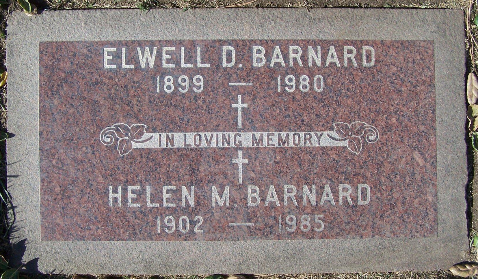 Elwell Dewey Barnard