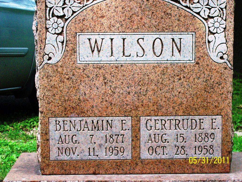 Benjamin E Wilson