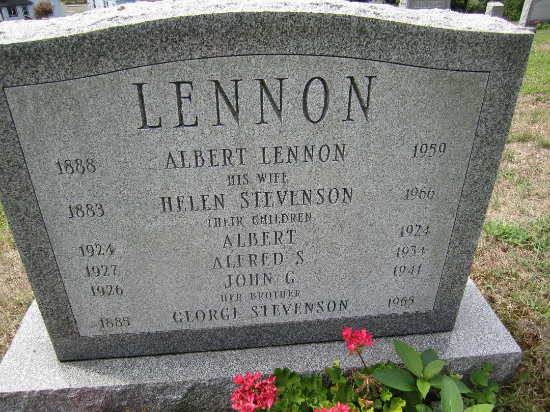 Alfred S Lennon 1927 1934 Find A Grave Memorial