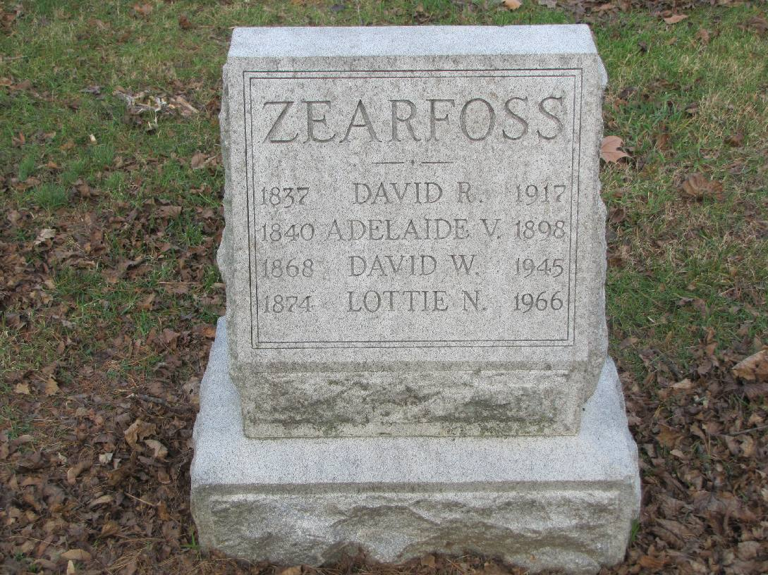 David William Tilden Zearfoss