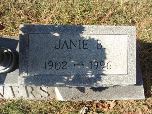 Janie B Bowers