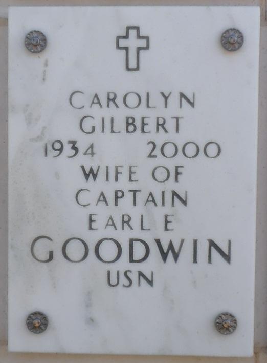 Carolyn <i>Gilbert</i> Goodwin