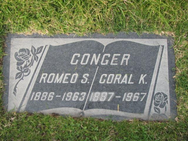 Coraline Katherine Coral/Katie <i>Leininger</i> Conger