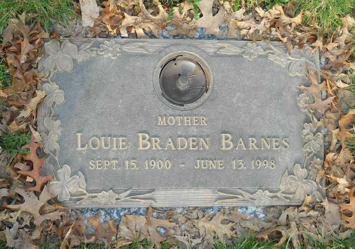 Louie <i>Braden</i> Barnes