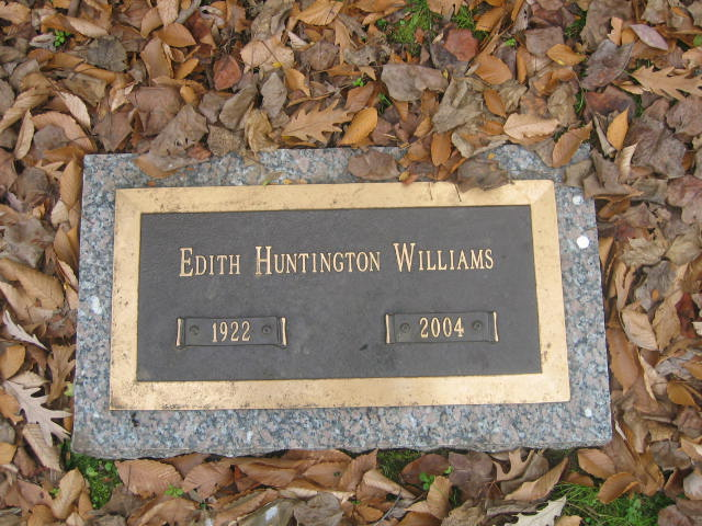 Edith Chapin <i>Huntington</i> Williams