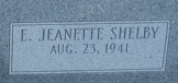 Evelyn Jeanette Jan <i>Shelby</i> Arnett