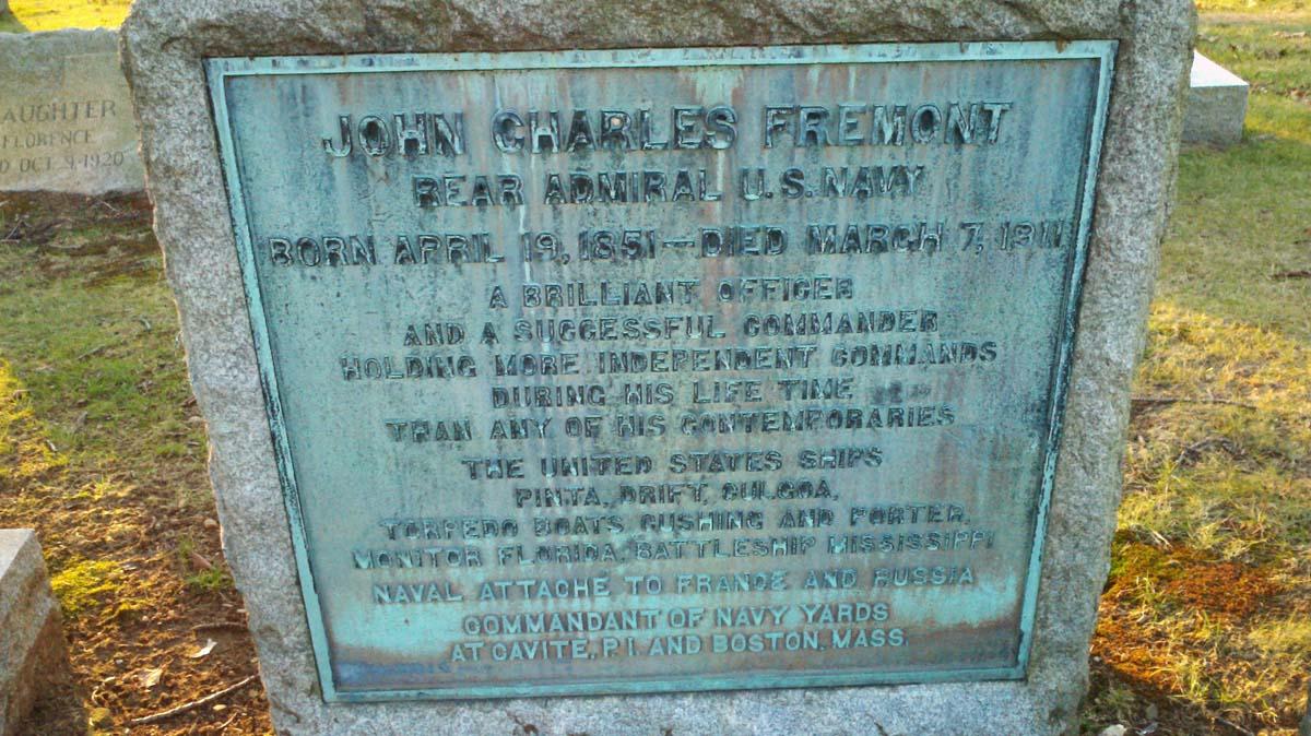 Adm John Charles Fremont
