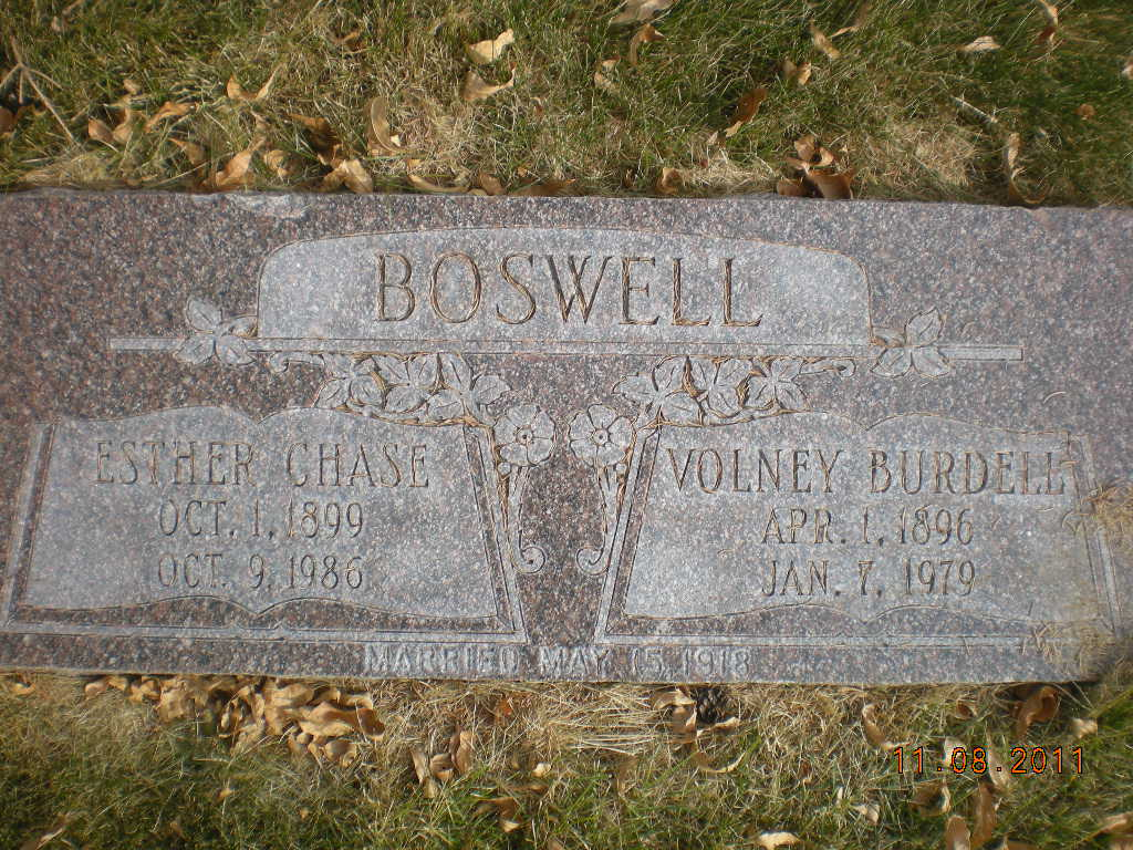 Esther <i>Chase</i> Boswell