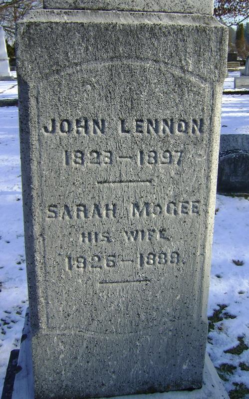 John Lennon 1823 1897 Find A Grave Memorial
