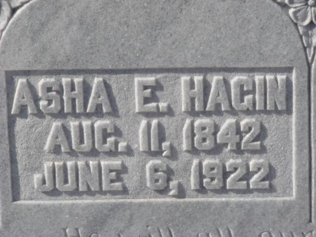 Asha Eveline <i>Rogers</i> Hagin