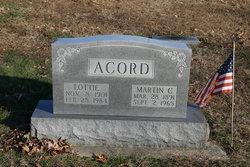 Lottie Irene <i>Allen</i> Acord