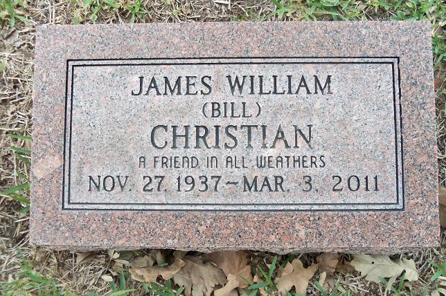 James William Bill Christian
