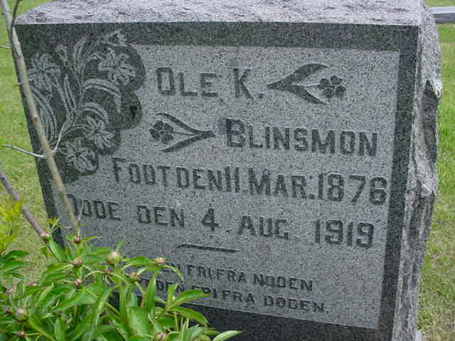 Ole K Blinsmon