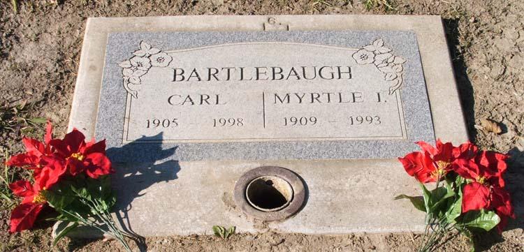 Carl Murl Bartlebaugh, Sr