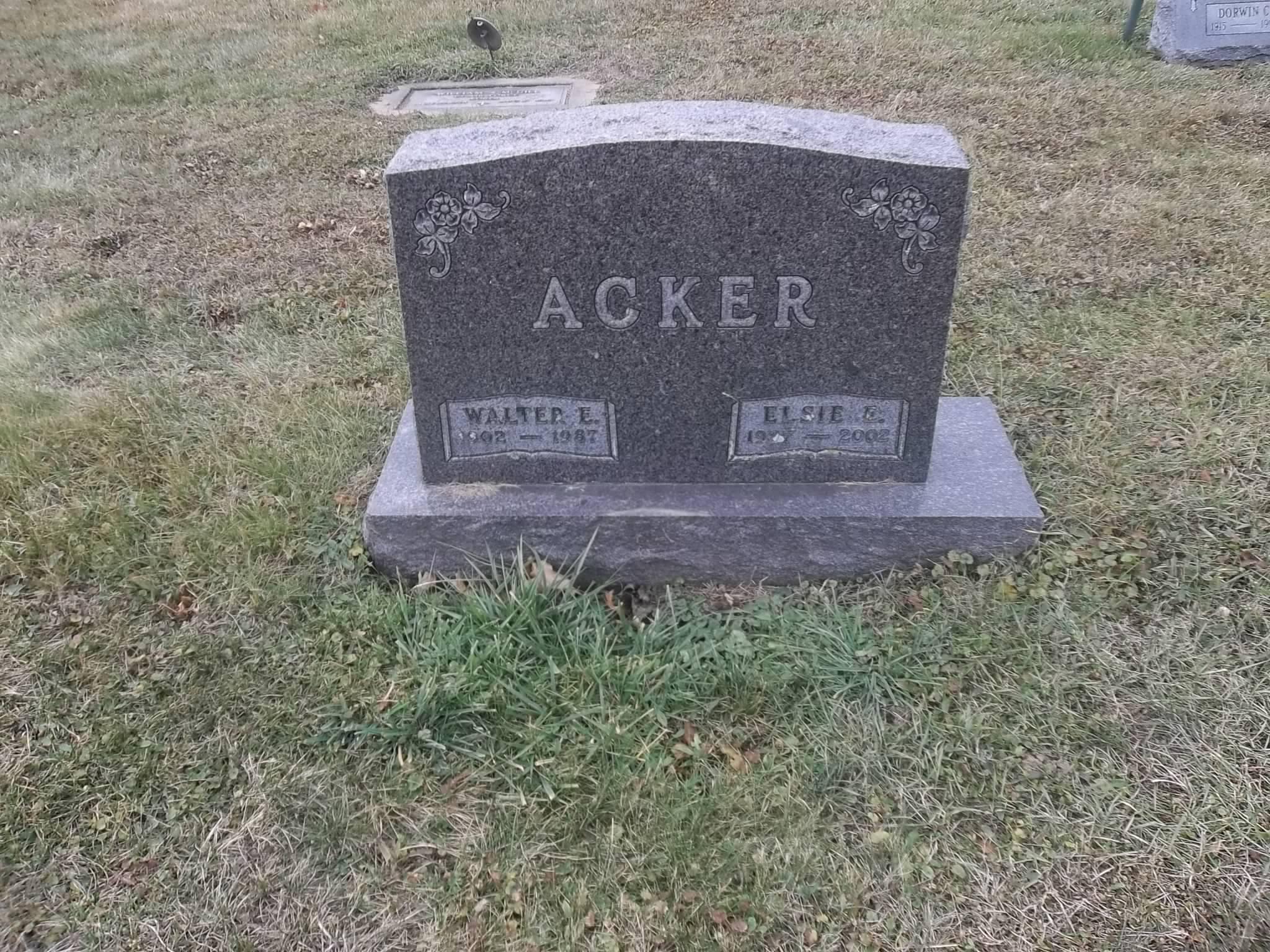 Elsie E. <i>Stamm</i> Acker