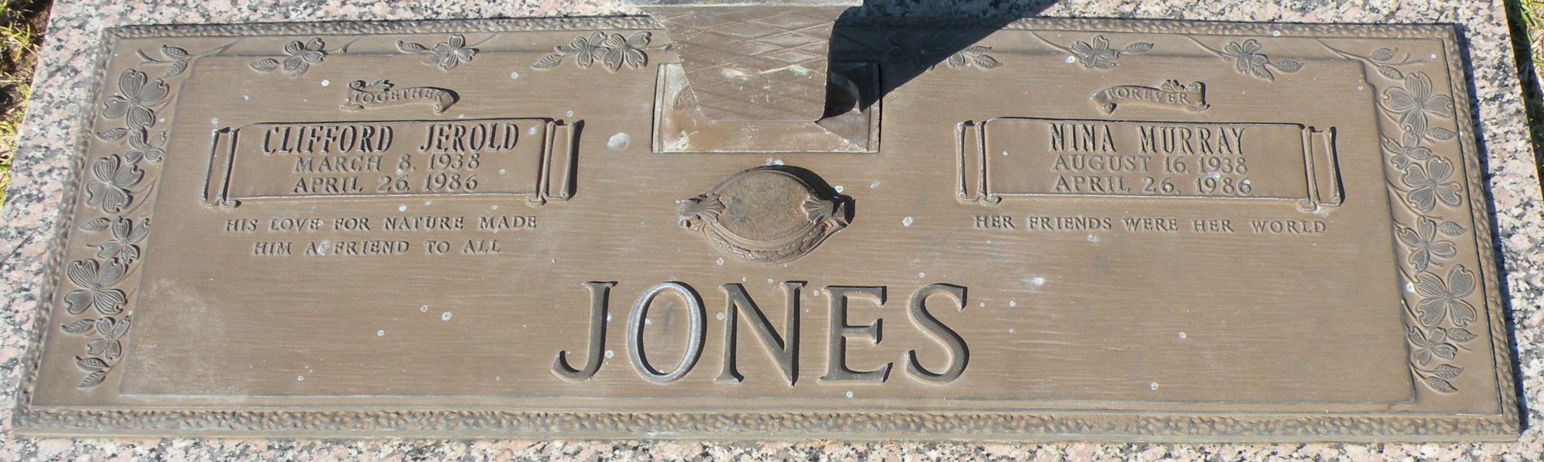 Clifford Jerold Jones (1938-1986) - Find A Grave Memorial