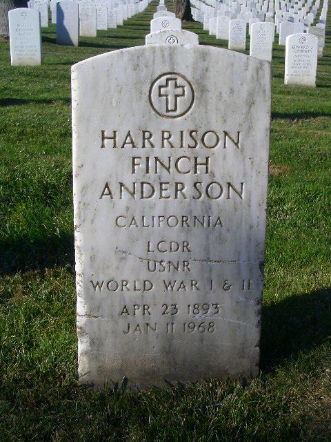 Harrison Finch Anderson