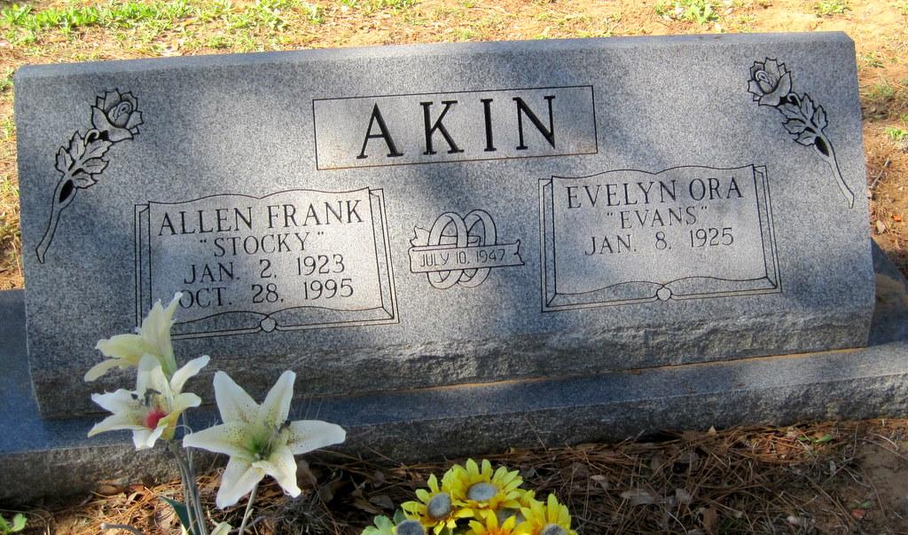 Allen Frank Stocky Akin