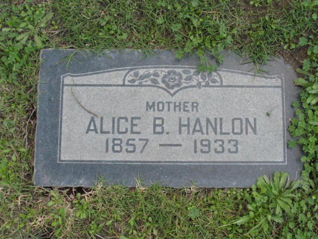 Alice B. <i>Keim</i> Hanlon