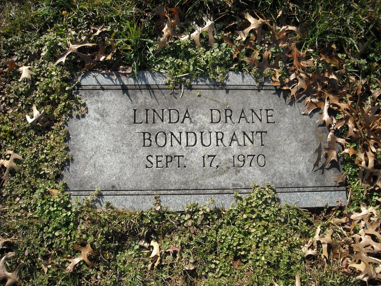 Linda <i>Drane</i> Bondurant