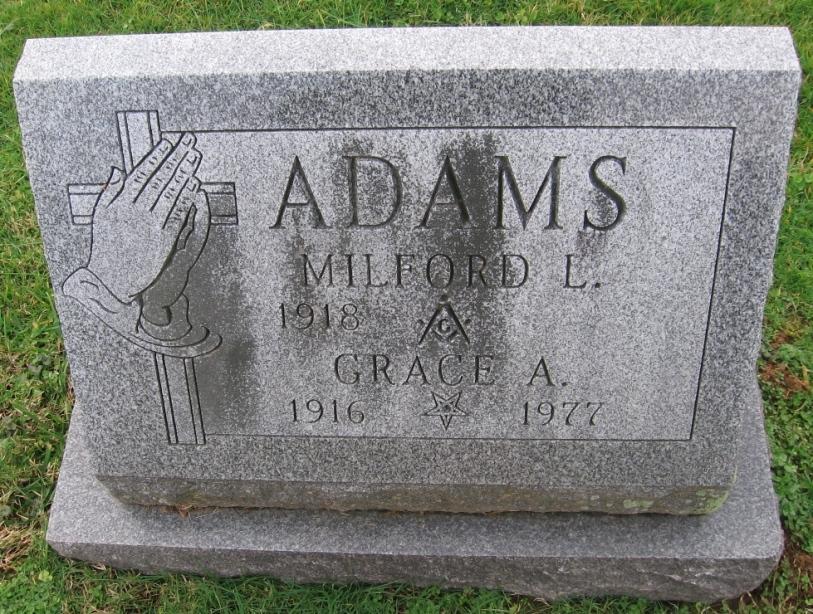 Grace Alverta <i>Murray</i> Adams