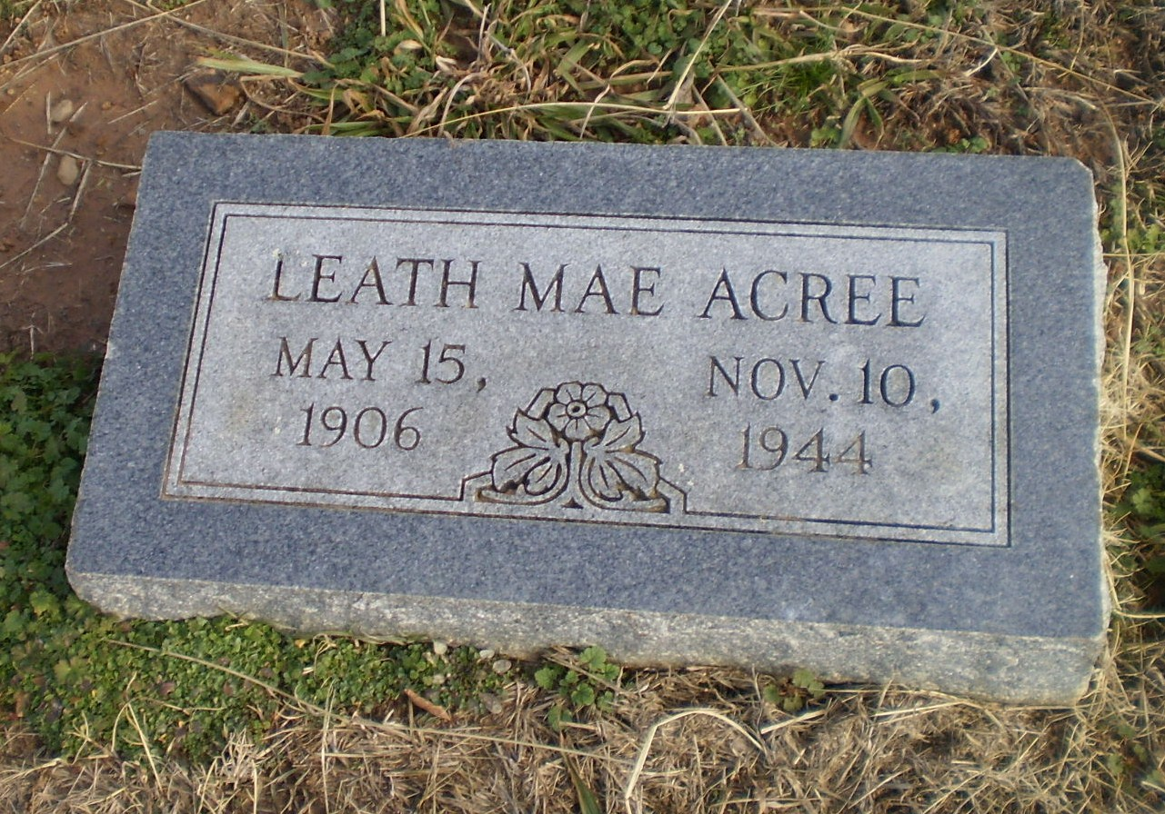 Leath Mae Acree