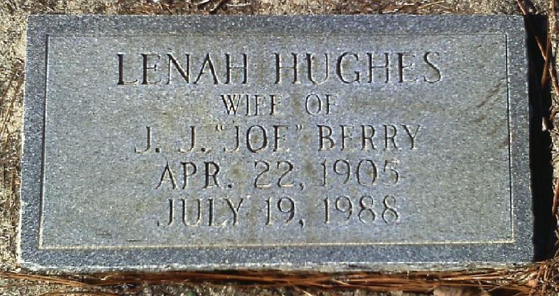 Lenah <i>Hughes</i> Berry