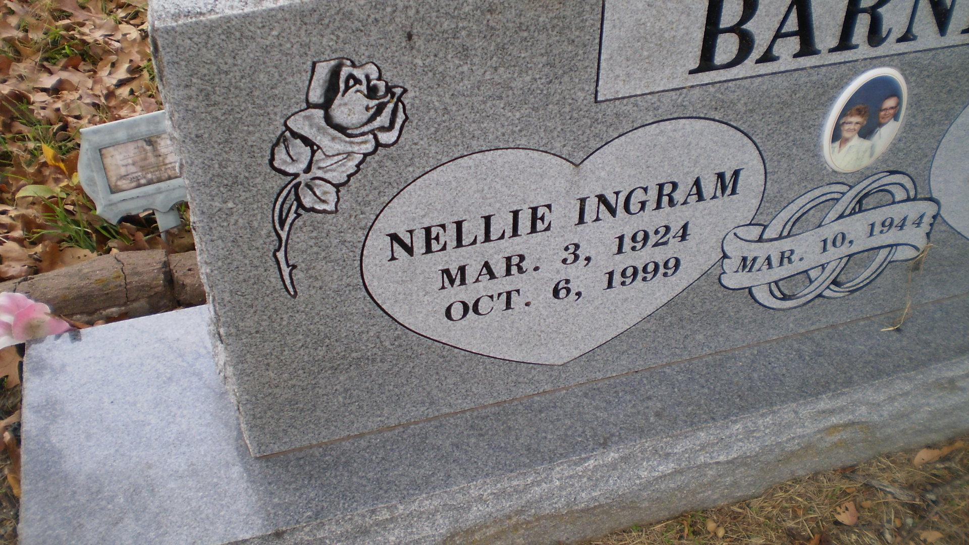 Nellie <i>Ingram</i> Barnes