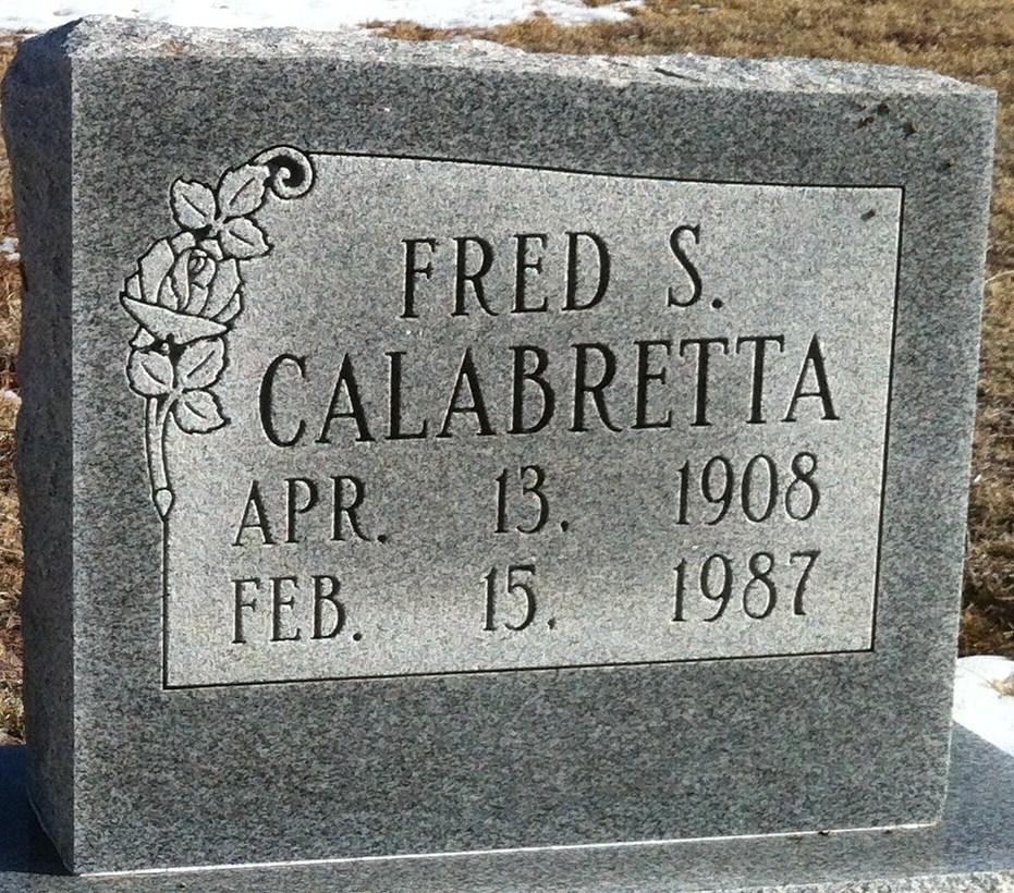 Fred S Calabretta