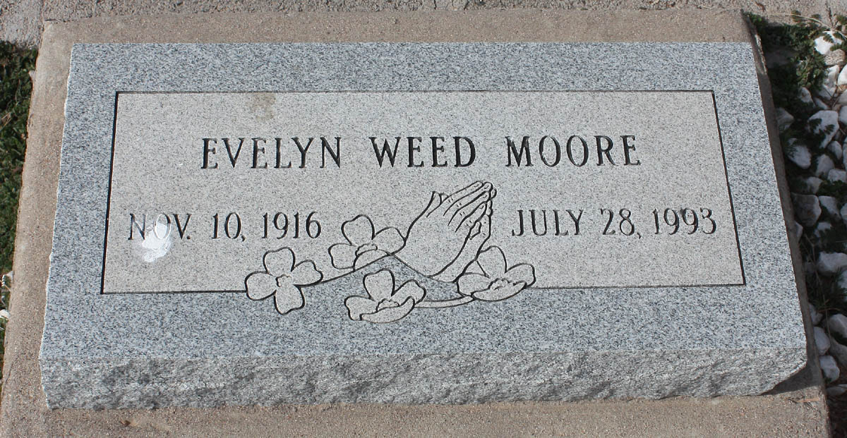 Evelyn Weed Moore