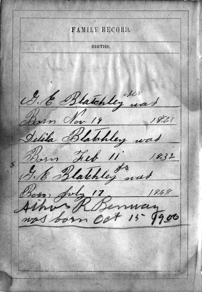 George Edward Blatchly, Sr
