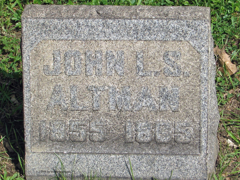John Luther S Altman