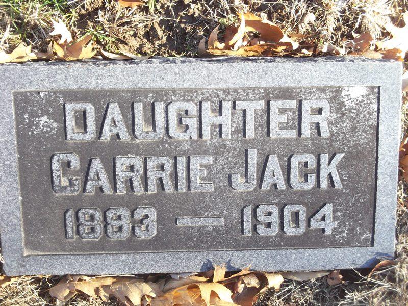 Carrie O <i>Dixon</i> Jack