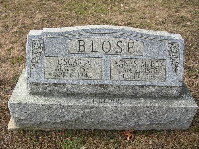 Oscar Alfred Blose
