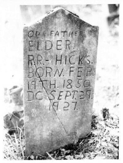 Reuben Redford Hicks