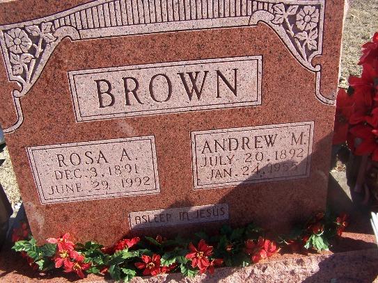 Rosa Angeline Rosie <i>Whiteley</i> Brown