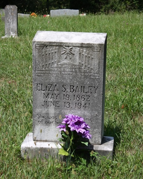Eliza Sharlotta <i>Mercer</i> Bailey
