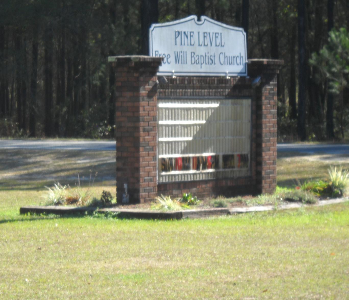 Pine Level Church Cemetery