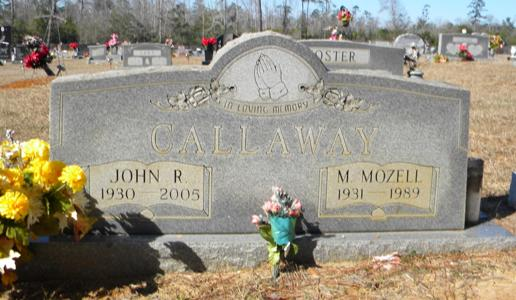 Mattie Mozell <i>Hawkins</i> Callaway