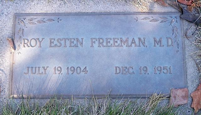 Roy Esten Freeman