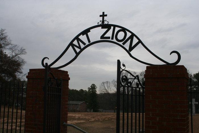 Mount Zion Methodist Church Cemetery