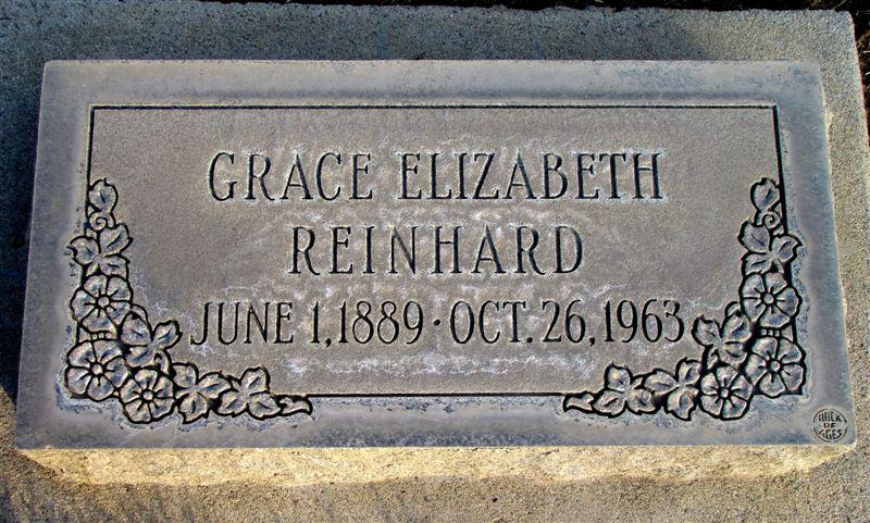 Grace Elizabeth Reinhard