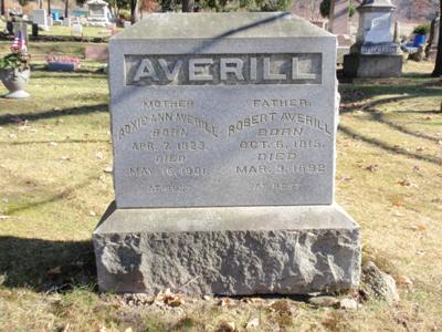 Roxie Ann <i>Kilborn</i> Averill